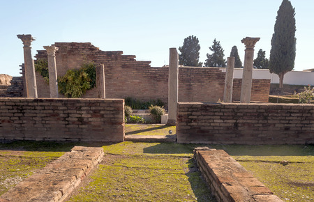 Roman ruins of Itálica in Andalusia