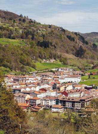 Cangas de Onis village in Asturias