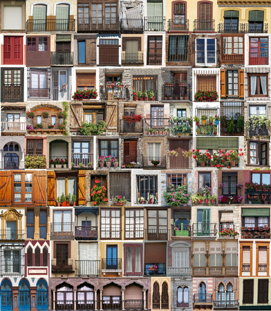 Collage of different windows
