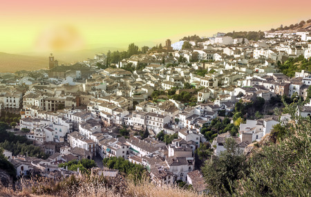 Cazorla village in Andalusia 免版税图像