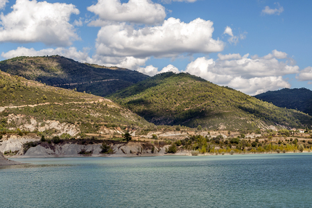 Lake in the mountains of the Pyrenees