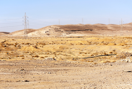 Desert of Shobak in Jordan