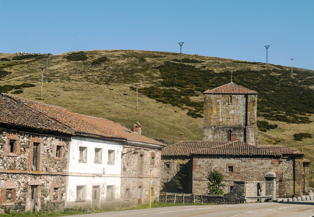 It is located on the slope of the mountains of the Cantabrian Mountains, at an altitude of about 970 meters. It gives its name to the valley where it is located, to the river that runs through it and to a mountain pass, the port of Pajares, which for centuries was the main route of communication between Asturias and the rest of Spain.