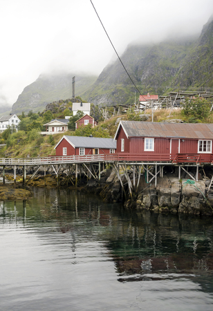 Nusfjord is a tranquil fishing village in the Lofoten archipelago in northern Norway. Fifty years ago, business was blooming when the codfish would come for spawning. Today, Nusfjord is more of a museum than a village, with less than a hundred people living there.