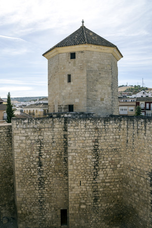 Ancient castle of Lucena on a sunny day