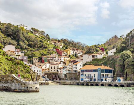Village by the sea called Cudillero. It´s situated in the north of Spain.
