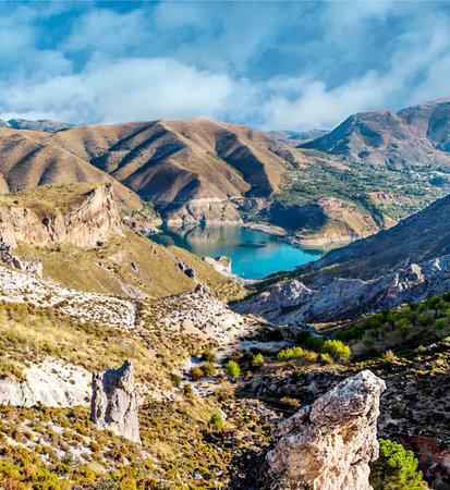Mountains of Sierra Nevada in Spain