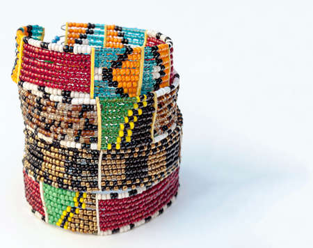 African souvenir of artisian made in Kenya Stock Photo