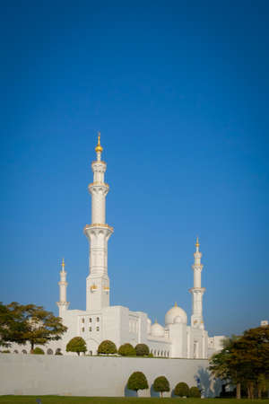 sheikh zayed mosque: Famous Abu Dhabi Sheikh Zayed Mosque, UAE