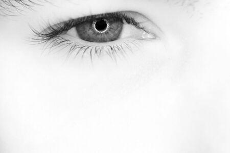 人間の目 写真素材