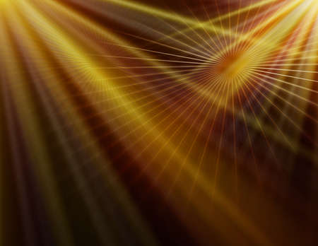 abstracte gele lijn technologie achtergrond