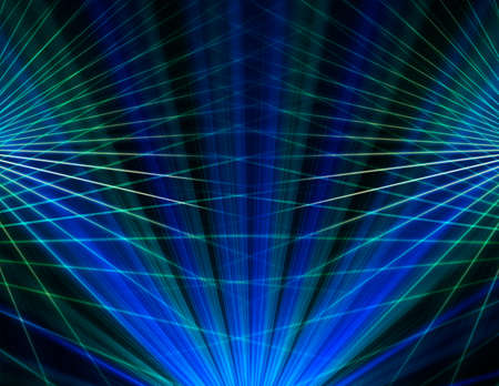 abstract blue line technology background photo