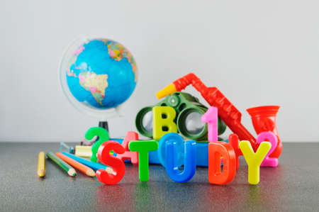 Study conceptual image of education & knowledge photo