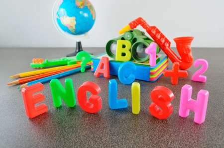 Study English conceptual image of education & knowledge