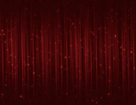 Red sparkle glitter curtains for background