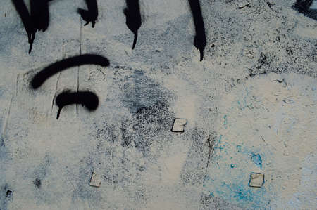 Old spray paint wall, Vintage art background photo