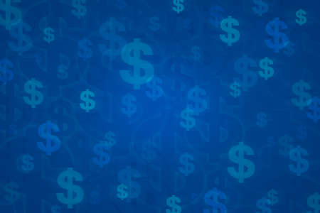 Dollar sign for background, Money concept 스톡 콘텐츠