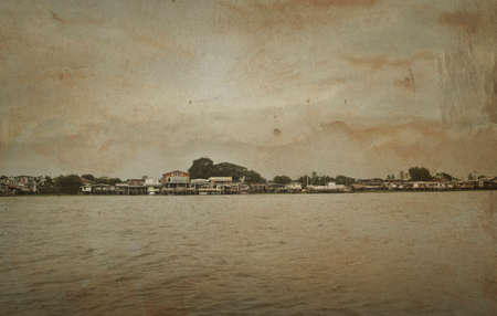 riverfront: The riverfront house in Bangkok, vintage style