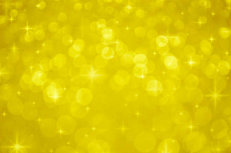 shiny gold: Gold blur light with shiny starry, Christmas background
