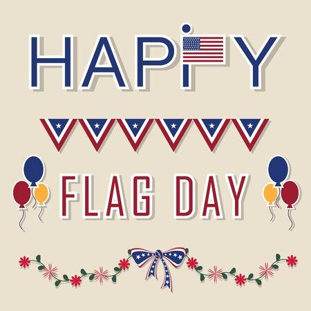 estados unidos bandera: Bandera de los Estados Unidos ilustraci�n d�a backgroundVector Vectores