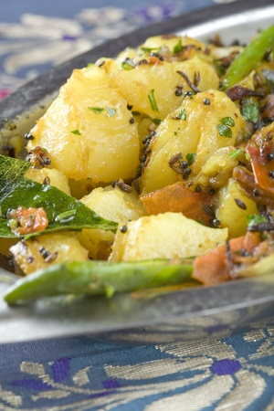 Indian dish Aloo Madras
