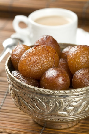 spongy: Indian special sweet Gulab Jamun