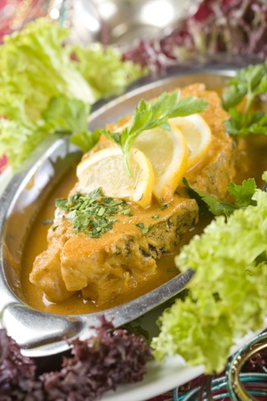 Indian Fish Curry photo