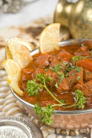 Indian food, Shahi Rogan Josh, lamb Stock Photo - 13508770