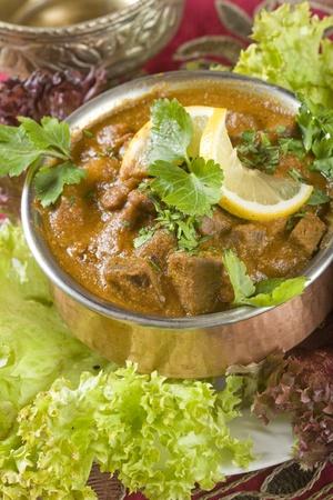 Indian food, Pork Sorpetel, pork stew.
