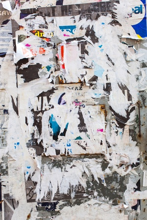 Scraps paper on message board, background Stock Photo