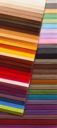 exemplary: Fabric of different colors