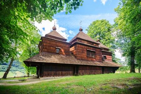 Eastern Orthodox Church, Lemko church in Smolnik, Poland photo