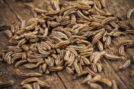 cumin: Spice cumin in extreme macro, detail