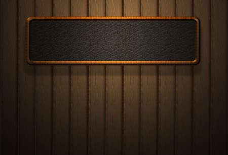 mahogany: High resolution wood board wall light shadow Stock Photo
