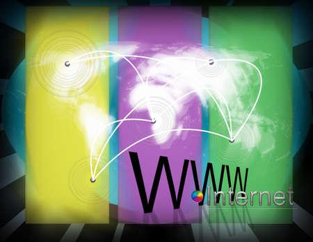 muster: Intercommunication world internet