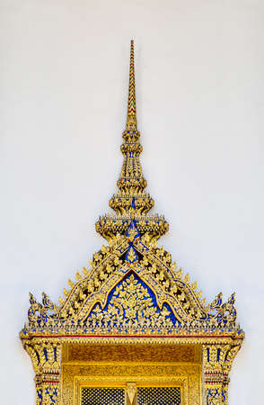 Art Thai old style in temple photo