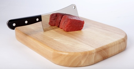 Meat Cleaver Stock Photo - 8983552