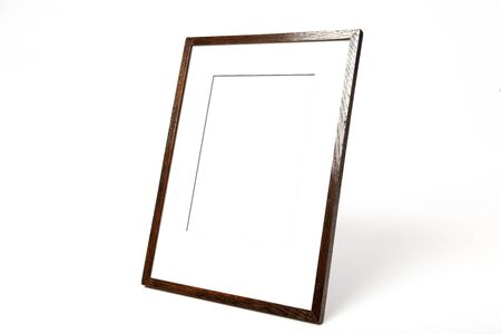Wood Picture Frame  Stock Photo