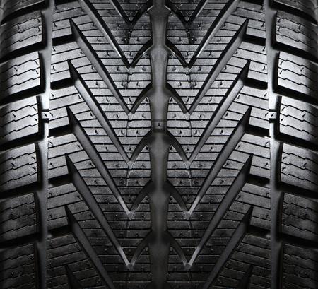 tire tracks: banda de rodadura de los neum�ticos Foto de archivo