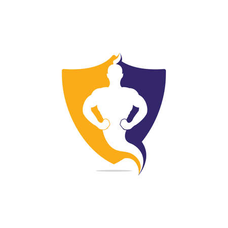 Genie-Logo-Design. Magic Fantasy Genie Konzeptlogo. Logo