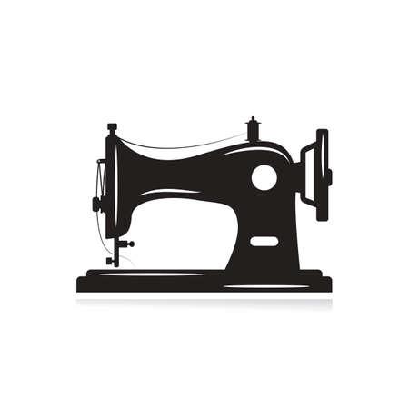 Symbol für manuelle Nähmaschine. Einfache Illustration der Handnähmaschinenikone für das Webdesign lokalisiert auf weißem Hintergrund.