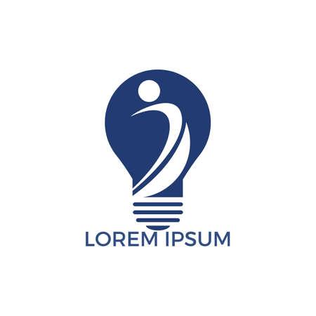 Therapeutic and Holistic health center logo design. Human health and medical center logo design template. Logó