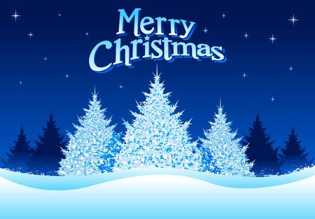 the pine tree: �rbol de Navidad Backround Vectores
