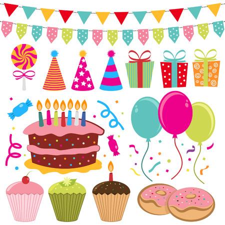 birthday cake: Birthday Set
