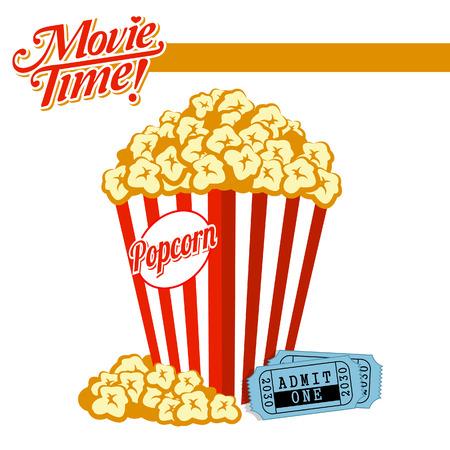 buttered: Movie Time  Illustration