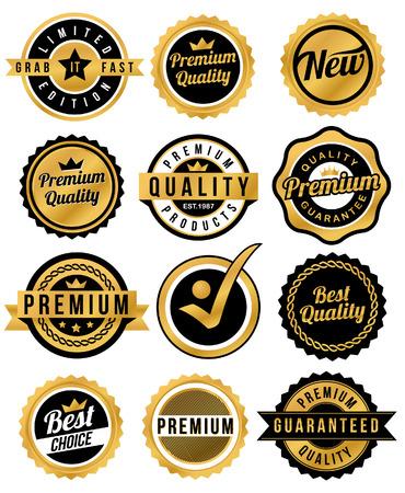 Badge   Label Illusztráció
