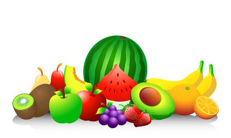 Fruits Illusztráció