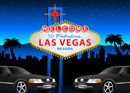 vector  sign: Welcome to Las Vegas