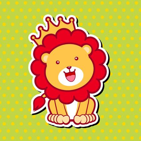 endangered species: Cute Lion
