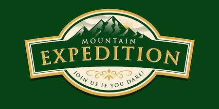 symbol sport: Berg-Expedition